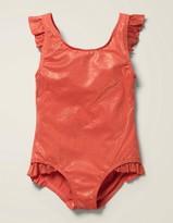Foil Frill Swimsuit
