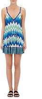Missoni Women's Mini-Cover-Up Dress-BLUE