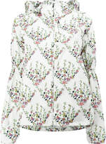 Giambattista Valli floral print hooded jacket
