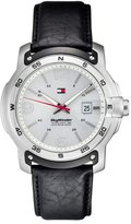 Tommy Hilfiger 1790899 Watch Sky Winder Mens Silver Dial Stainless Steel Case Quartz Movement