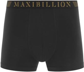 Maxibillion Geneva Modal Micro Air Boxer Brief Coal Black