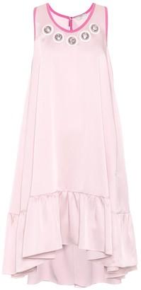 Fendi Exclusive to mytheresa.com embellished satin dress