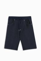 120% Lino Drawstring Bermuda Shorts