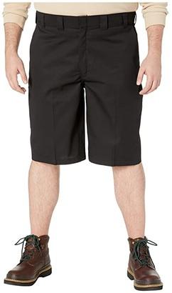 Dickies Big Tall 13 Flat Front Active Waist Shorts Regular Fit