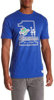 Mitchell & Ness MLB Number One Los Angeles Dodgers Tailored Tee