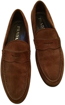 Prada loafers in brown suede size 9 (42)