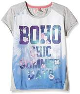 Camps Girl's Printed T-Shirt - Grey -