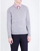 Paul Smith V-neck Merino Wool Jumper