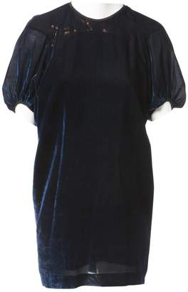 N. Non Signé / Unsigned Non Signe / Unsigned \N Navy Synthetic Dresses