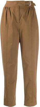 Alberta Ferretti buckled tapered trousers