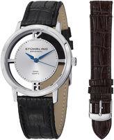 Stuhrling Original Mens Black Strap Watch-Sp14693