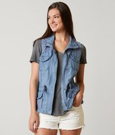 Brandon Thomas Chambray Vest
