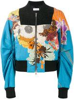 Dries Van Noten floral printed bomber jacket