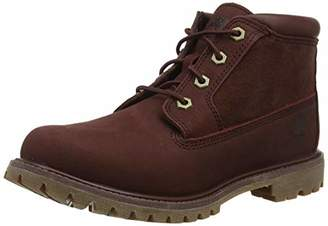 Timberland Women's Nellie Chukka Leather Suede Ankle Boots,7 UK 40 EU