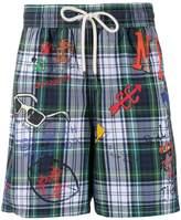 Polo Ralph Lauren tartan swim shorts