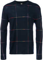 Paul Smith check printed sweater