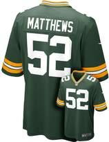 Nike Men's Green Bay Packers Clay Matthews Game NFL Replica Jersey