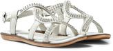Lelli Kelly Kids White Doroty Leather Diamante Sandal