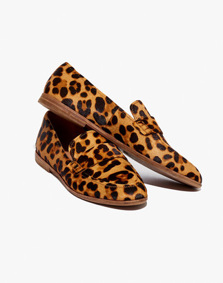 Madewell The Alex Loafer in Leopard Calf Hair