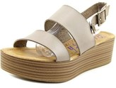 Blowfish Lola Women Open-toe Synthetic Gray Slingback Sandal.