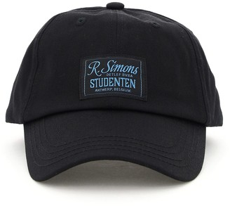 """Raf Simons STUDENTEN"""" BASEBALL CAP OS Black Cotton"""
