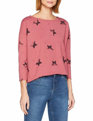 Only Women's Onlirene Star 3/4 O-Neck SWT Jumper