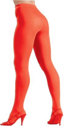Forum Novelties Inc. Forum Novelties Women's Plus-Size Novelty Solid Color Queen Tights