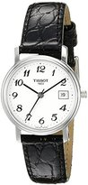 Tissot Women's T52.1.121.12 Analog Display Quartz Black Watch