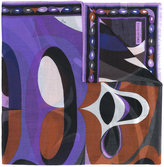 Emilio Pucci abstract print scarf - women - Cashmere - One Size