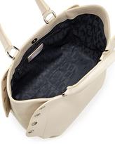 Furla Royal Medium Side-Snap Tote Bag, White