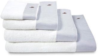 Ralph Lauren Home Oxford bleu hand towel