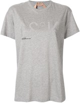 No.21 logo oversized T-shirt