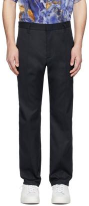 Deveaux Navy Chris Trousers