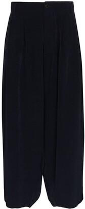 Yohji Yamamoto Sarouel cropped trousers