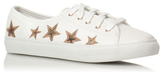 George Star Embroidered Lace-Up Trainers