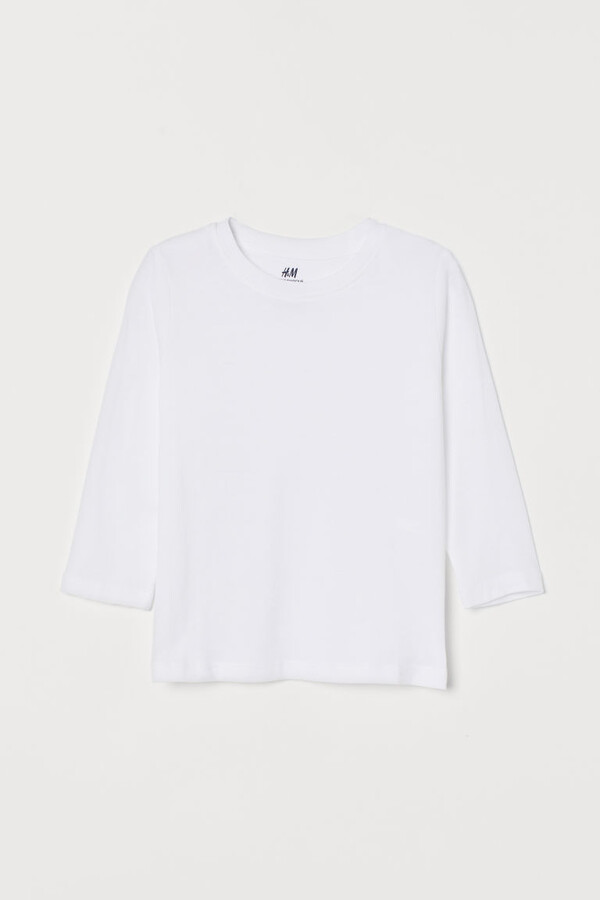 H&M Jersey Shirt - White