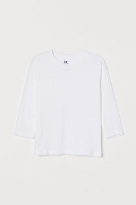 H&M Jersey Shirt - White