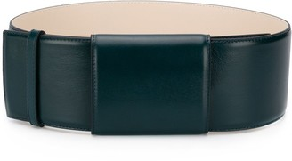 Marni Wide Leather Belt