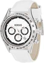 Versus By Versace Women's SGC010012 Cosmopolitan Round Stainless Steel Dial Chronograph Watch