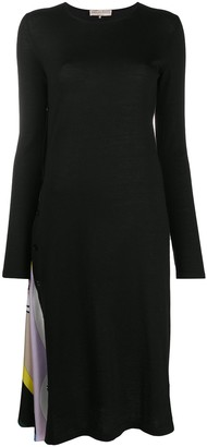 Emilio Pucci Geometric-Insert Dress