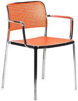 Kartell Audrey Armchair Polished Orange