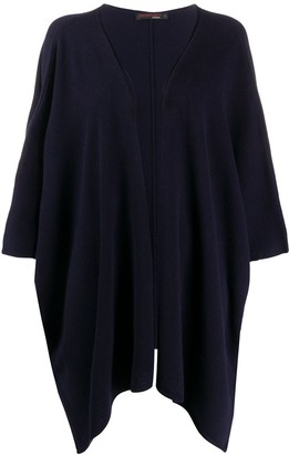 Incentive! Cashmere loose-fit cashmere cardi-coat