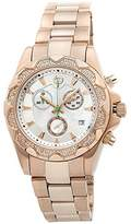 Brillier Women's 14-06 Analog Display Swiss Quartz Rose Gold Watch