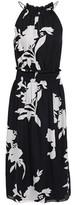Joie Jerelle Shirred Floral-print Silk-crepe Midi Dress