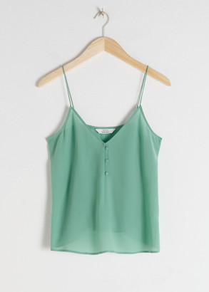 And other stories Silk Camisole Top
