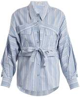 Palmer Harding PALMER/HARDING Striped cotton shirt