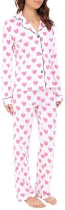 PJ Salvage Heart Pajama Set