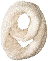 Jessica Simpson Women's Solid Looped Yarn Knit Eternity Scarf