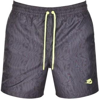 Nike Festival Logo Swim Shorts Grey