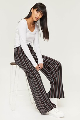 Ardene Super Soft Striped Wide Leg Pants
